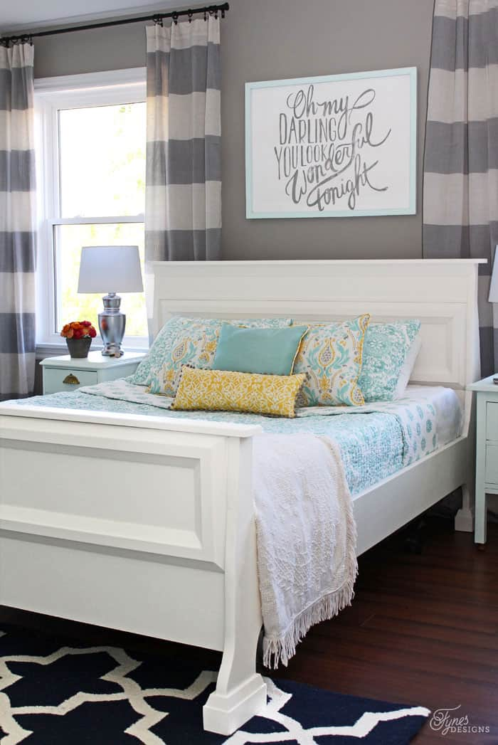 Fresh Master Bedroom makeover
