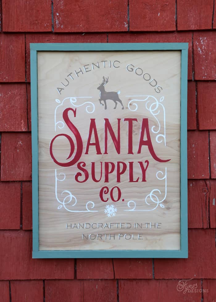 Santa Supply Company FREE Christmas Silhouette Cut File