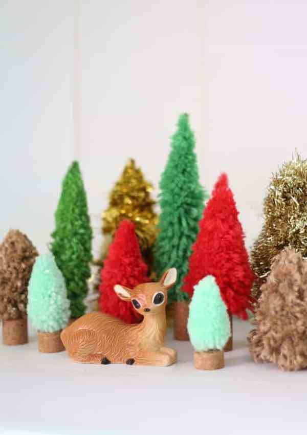 DIY Bottle Brush Trees Crafternoon Kit