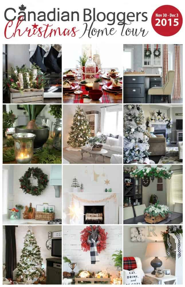 Canadian Bloggers Christmas Home Tour