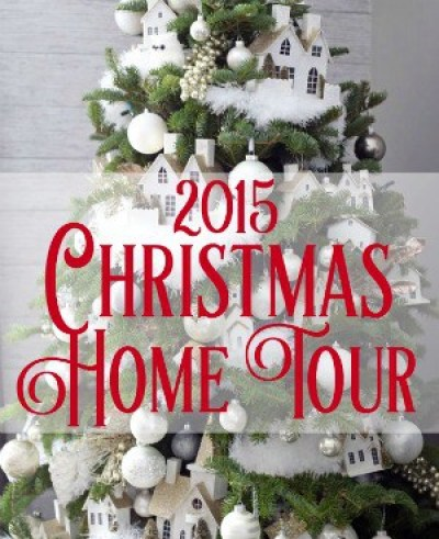 Fynes Designs 2015 Christmas Home Tour- This house has 10 decorated trees!