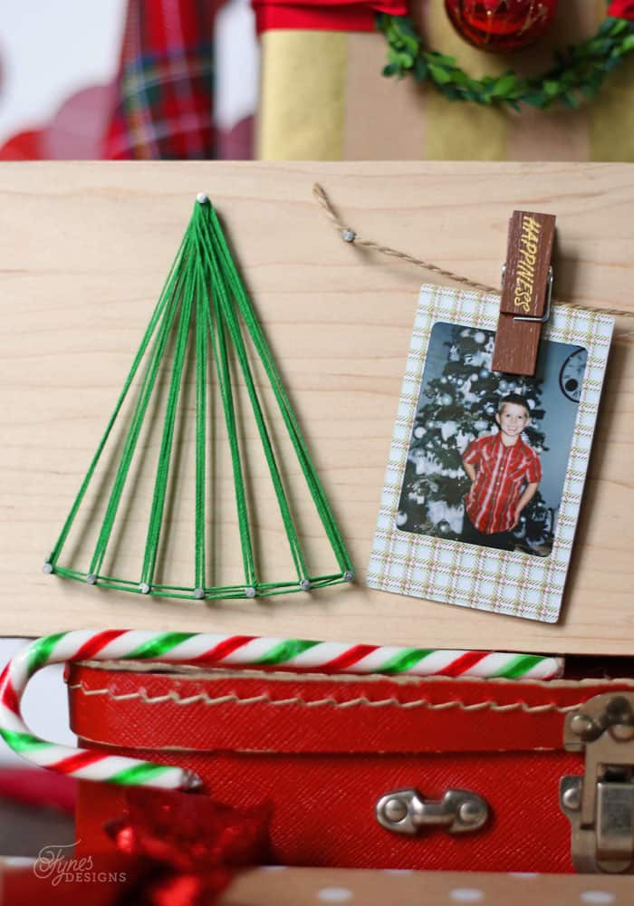 String art Kids Christmas Craft