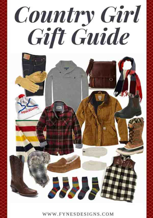 Country Girl Gift Guide