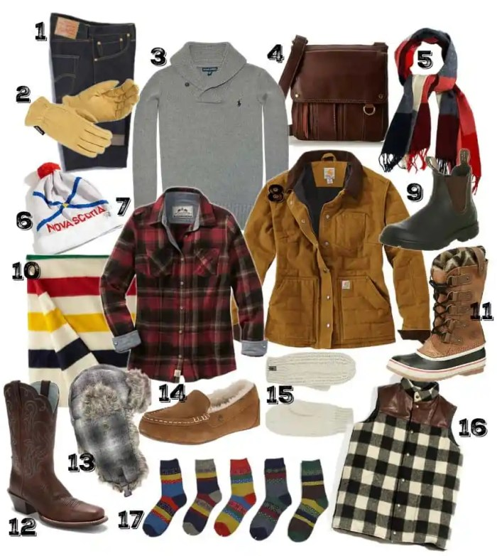 Country girl gift guide, keep warm and cozy this winter