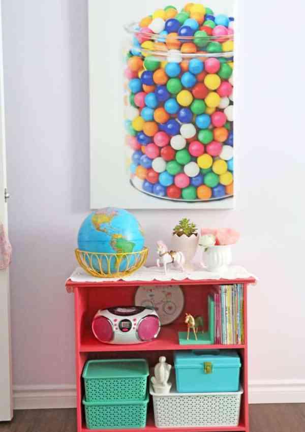 Girls Bedroom Decor- A Fresh Makeover