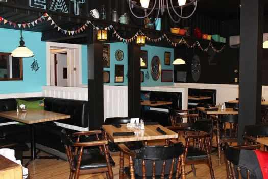 dining room Union Street Cafe