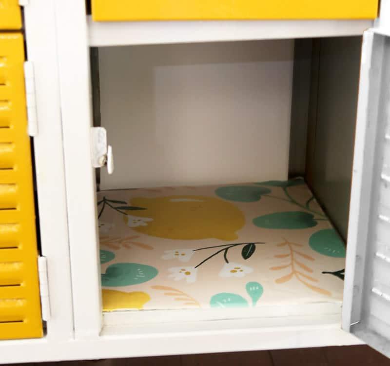 refinihsing vintage lockers