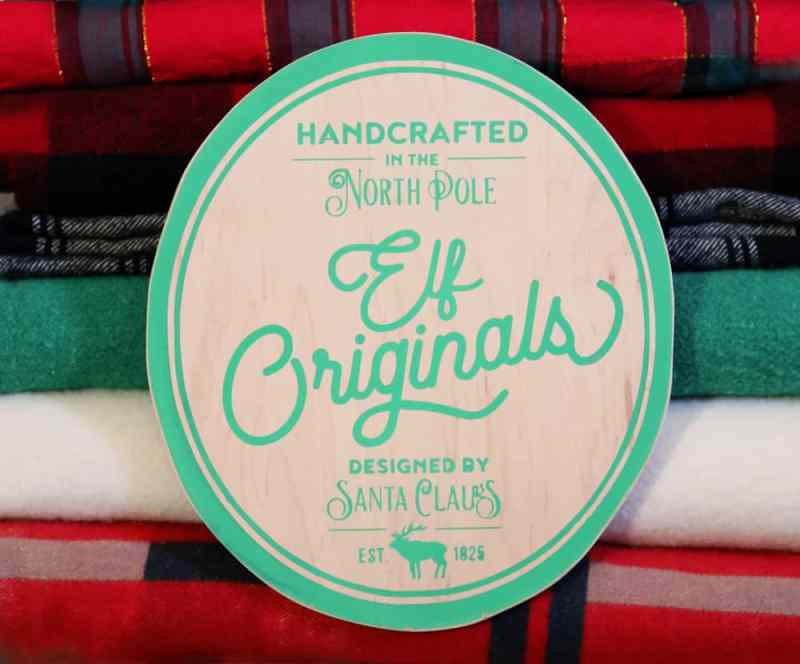 Elf Originals Christmas painted signs SVG, Silhouette, and Cricut Cut files