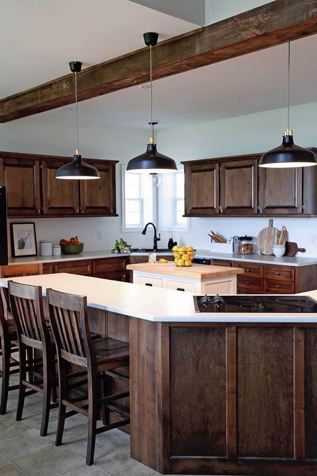 Farmhouse kitchen makeover before and after