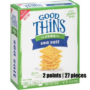 Low Point Weight Watchers snacks under 3 points featured by top US life and style blog, Fynes Designs: Nabisco Good Things corn