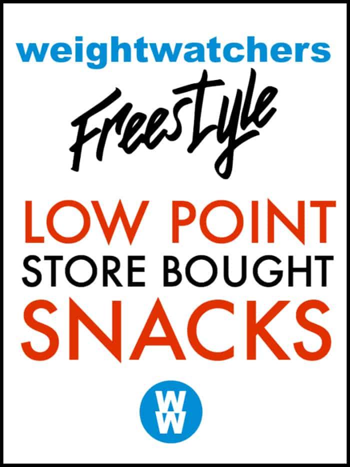 25 Snacks Under 3 Weight Watchers Points