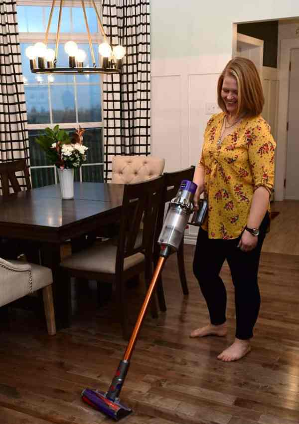 New Home Cleaning with Dyson Cyclone V10