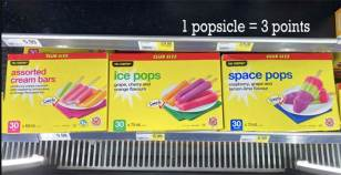 Weight Watchers Snacks by popular Canada lifestyle blog, Fynes Designs: image of ice pops, space pops, and cream bars.