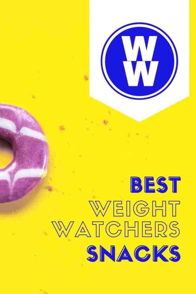 The Best Low Point Weight Watchers snack ideas |Weight Watchers Snacks by popular Canada lifestyle blog, Fynes Designs: Pinterest image of best Weight Watchers snacks.
