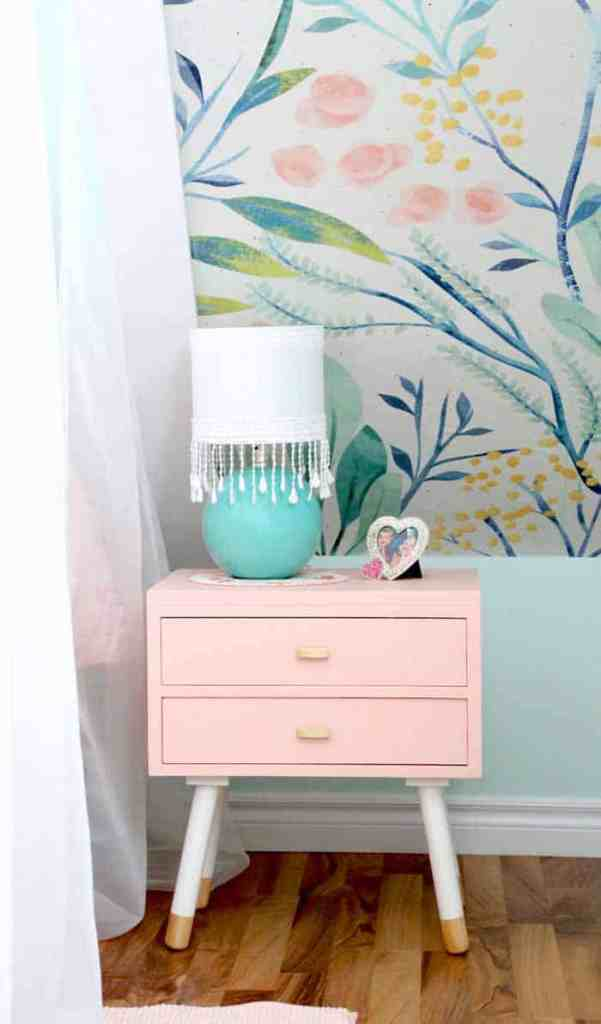 Tween girl bedroom makeover