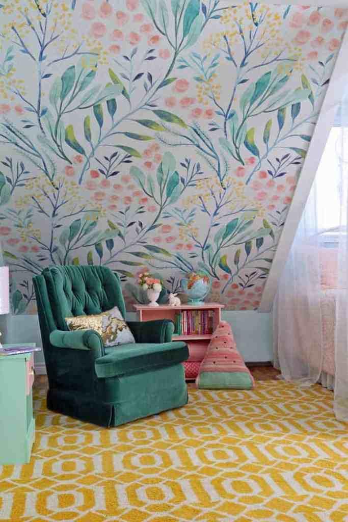 Slant ceiling bedroom ideas
