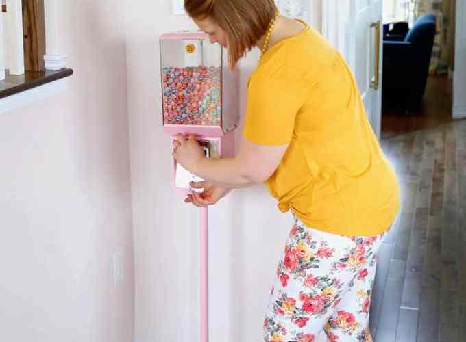 painted gumball machine