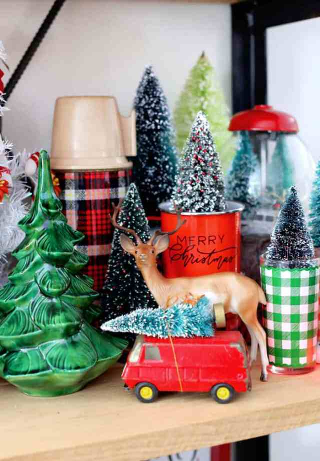 Christmas Home Decor Tour featured by top US design blog, Fynes Designs: Red themed Christmas decorations | Holiday Home Decor Tour 2019 by popular Nova Scotia life and style blog, FYNE Designs: image of pine tree decor.