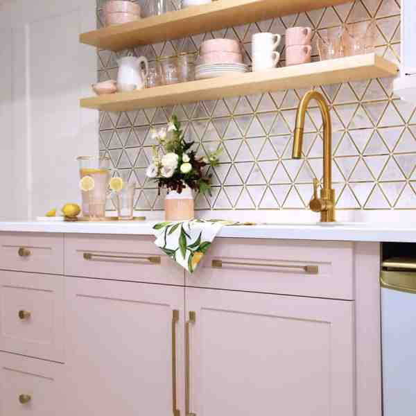 Jeffrey Court Renovation Challenge- Nova Scotia vacation rental with a pink kitchen