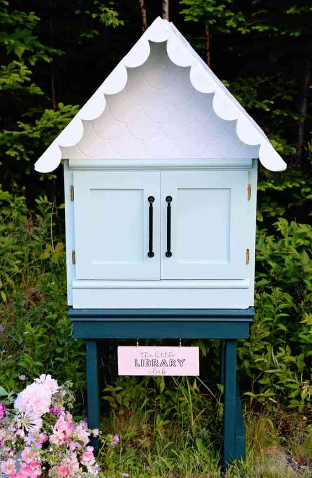 The Little Library Club in Nova Scotia