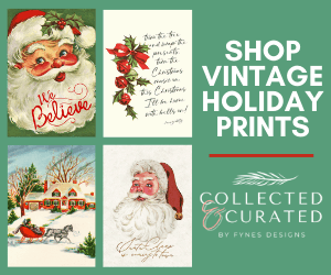 Collected and Curated Vintage Holiday print shop