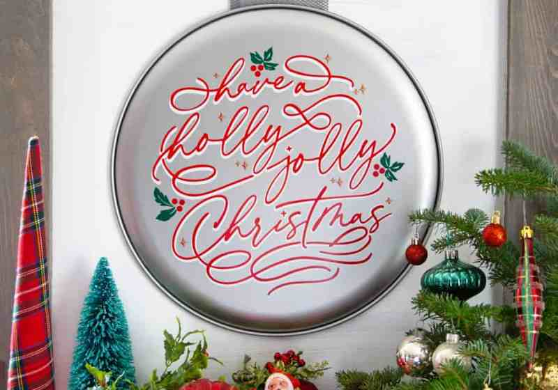 20 FREE Christmas SVG files for Silhouette and Cricut