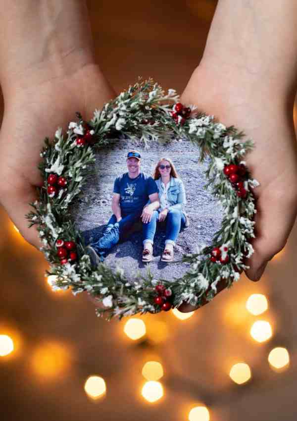 IKEA Hacks: Keepsake Photo Ornament