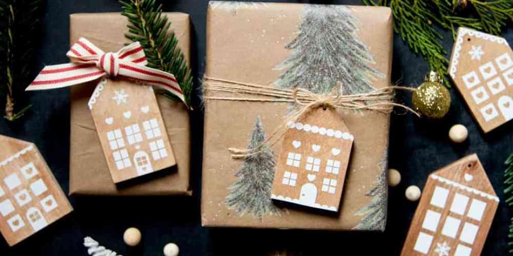 handmade Gingerbread house ornaments