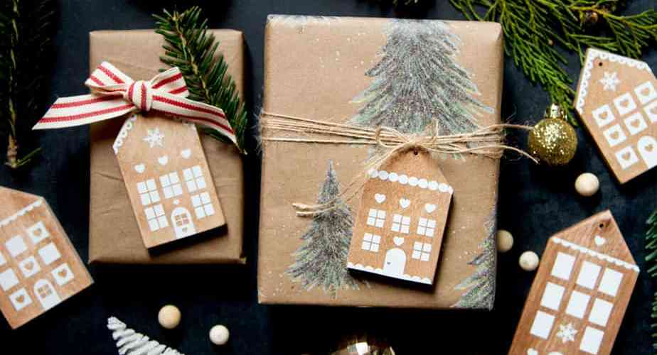 handmade Gingerbread house ornaments