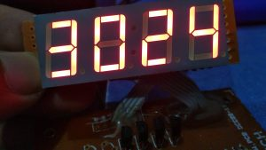4 digit 7 segment on Arduino atmega 8