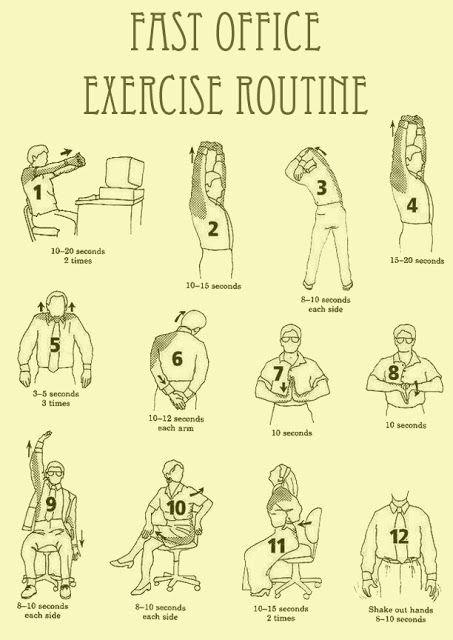oefeningen voor nekpijn