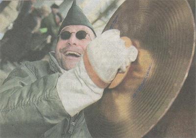 Schwäbische Zeitung, 15.02.2010 Bildergallerie vom Narrensprung in Weingarten