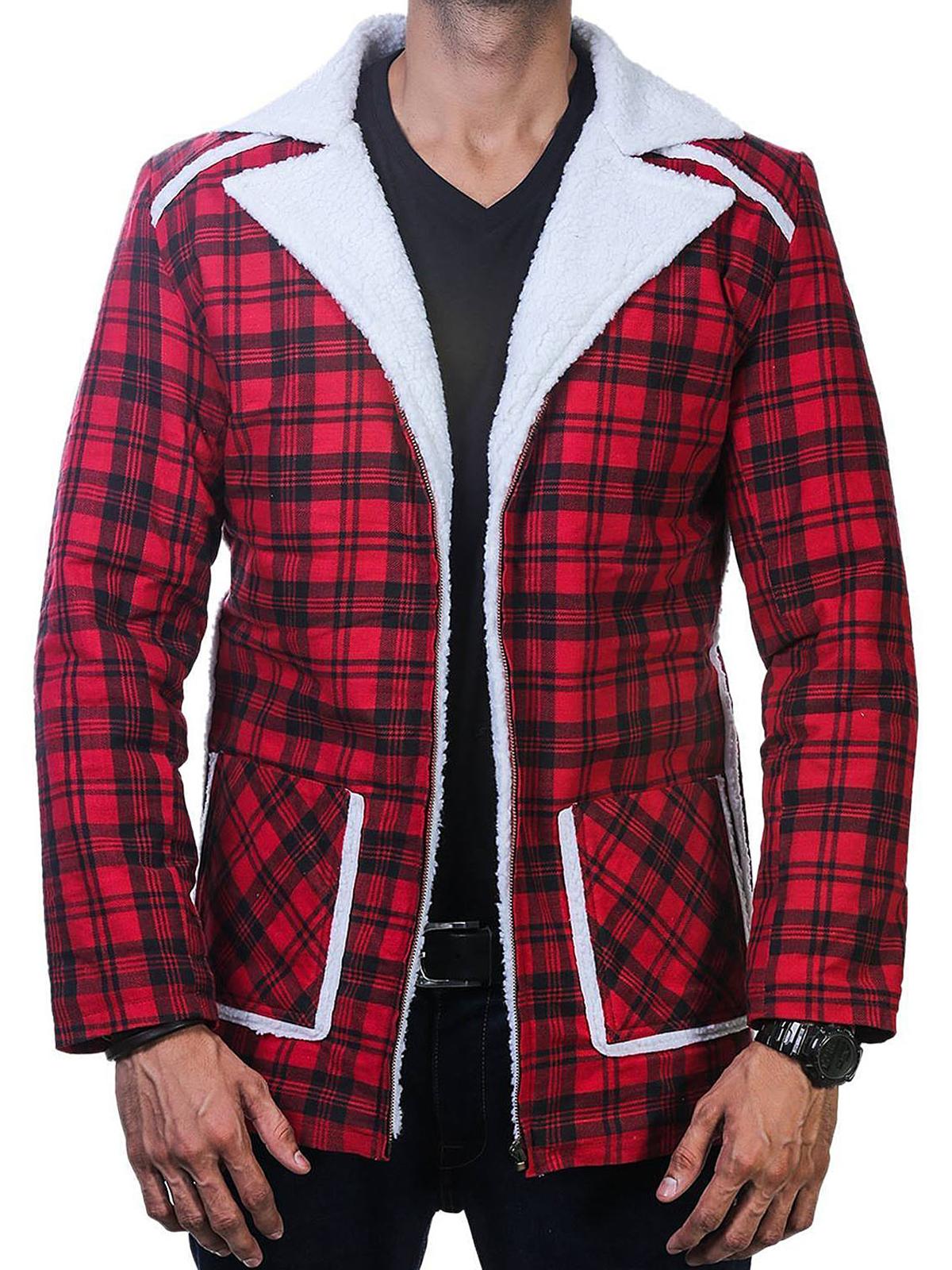 E:\Social Media\FZ Merchandise\Product Pictures\Deadpool Shearling fur Jacket