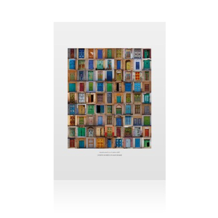 5 Porte Ouvertes Wall Poster