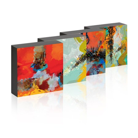 Set of Four Calligraphica Picture Box