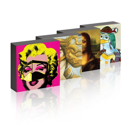 Set of Four Burqa Picture Box
