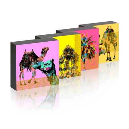 Set of Four Fair & Square Picture Box
