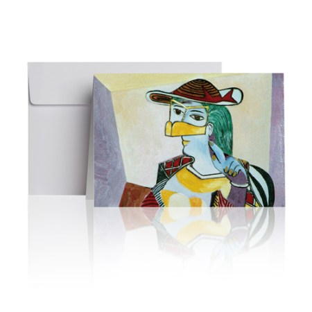 Woman - Picasso Greeting Card
