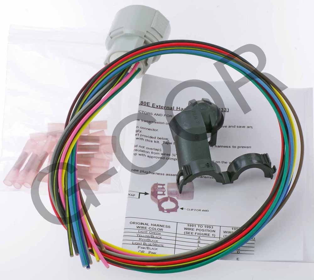 4l80e Wire Harness External Only Female