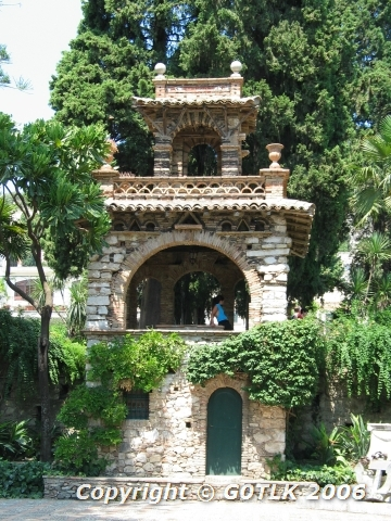 Stone pagoda