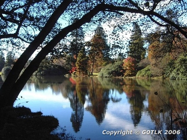 Autumn colours Sheffield Park