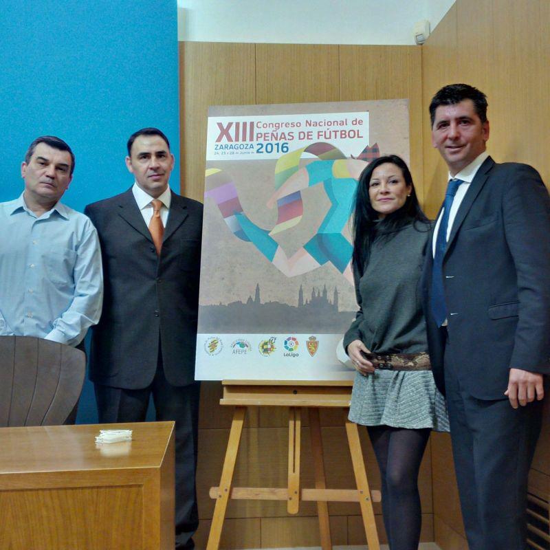 Presentación XIII Congreso Nacional de Peñas - Zaragoza