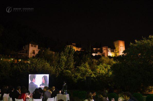 Velada nocturna en el Palacio de los Córdova