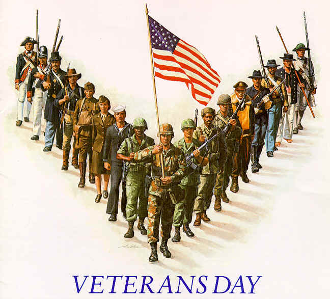 Thank You To All Serving and All Those Who Served, Both Here and Abroad!