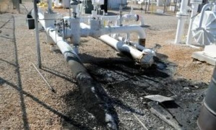 Fire Damage Assessment at a Pipeline Facility