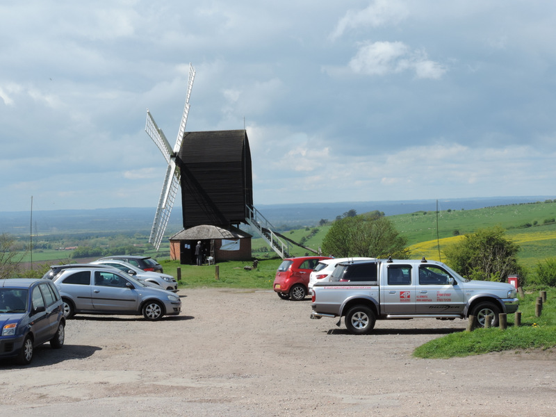 Brill Windmill - It looks warmer than it was!