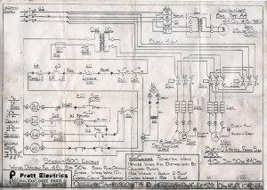 Colchester Student 1800 wiring diagram | G4DBN
