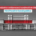 """BREAKING Iniţiativa cetăţenească de revizuire a Constituției """"Fără penali în funcţii publice"""" a fost adoptată de Camera Deputaților / USR: Moment istoric în Parlamentul României"""