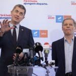 Barna și Cioloș au lansat oficial tandemul președinte-premier / Barna: Eu voi ajunge în turul doi alături de Iohannis, obiectivul este să câștig / Cioloș: Barna e un om nou. Sperăm să facem majoritatea la parlamentare și să schimbăm Constituția