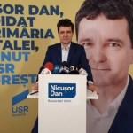 SURSE Candidatul USR la Primăria Capitalei, Nicușor Dan, și-a făcut propriul partid / Uniunea Forțelor Locale, înființată în vara anului trecut, ar fi partidul fostului lider al Uniunii Salvați România